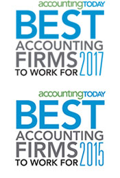 ACT Best Firms 2015 and 2017