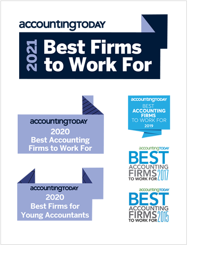 Accounting Today 2021 Best Firms to Work For Award
